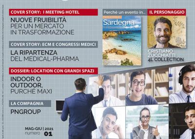 Copertina rivista Meeting&Congressi